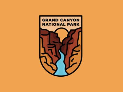 Grand Canyon National Park Emblem
