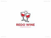 Redo Wine   Day 35 Logo of Daily Random Logo Challenge