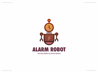 Alarm Robot   Day 36 Logo of Daily Random Logo Challenge