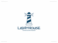 Lighthouse | Day 38 Logo of Daily Random Logo Challenge