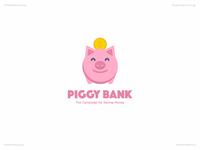 Piggy Bank   Day 40 Logo of Daily Random Logo Challenge