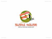 Sushi House   Day 41 Logo of Daily Random Logo Challenge