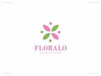 Floralo   Day 44 Logo of Daily Random Logo Challenge