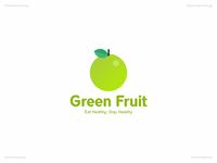 Green Fruit   Day 49 Logo of Daily Random Logo Challenge