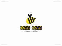 Bee Bee | Day 53 Logo of Daily Random Logo Challenge