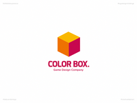 Color Box. | Day 54 Logo of Daily Random Logo Challenge