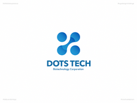 Dots Tech | Day 55 Logo of Daily Random Logo Challenge