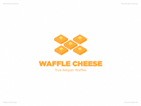 Waffle Cheese | Day 56 Logo of Daily Random Logo Challenge