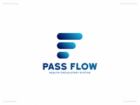 Pass Flow | Day 60 Logo of Daily Random Logo Challenge