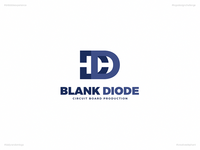 Blank Diode | Day 63 Logo of Daily Random Logo Challenge
