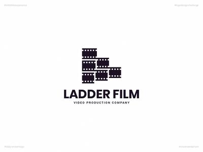 Ladder Film | Day 64 Logo of Daily Random Logo Challenge