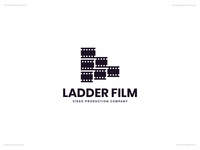 Ladder Film | Day 64 Logo of Daily Random Logo Challenge