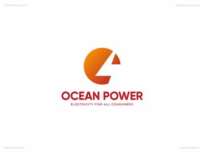Ocean Power | Day 65 Logo of Daily Random Logo Challenge