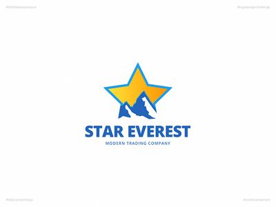 Star Everest | Day 66 Logo of Daily Random Logo Challenge