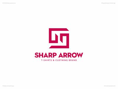 Sharp Arrow | Day 67 Logo of Daily Random Logo Challenge