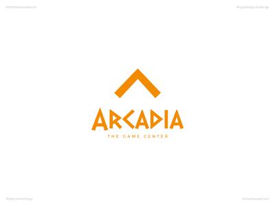 Arcadia | Day 69 Logo of Daily Random Logo Challenge