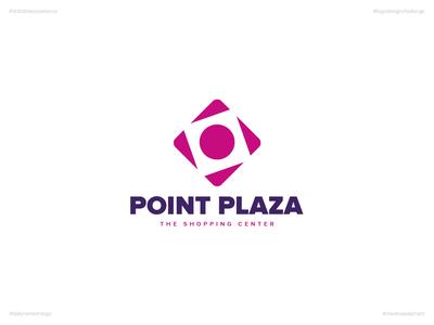 Point Plaza | Day 70 Logo of Daily Random Logo Challenge