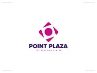 Point Plaza | Day 71 Logo of Daily Random Logo Challenge
