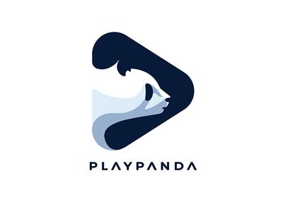 Play Panda2 negative space albania documentary video logo bear play rare wild animal panda