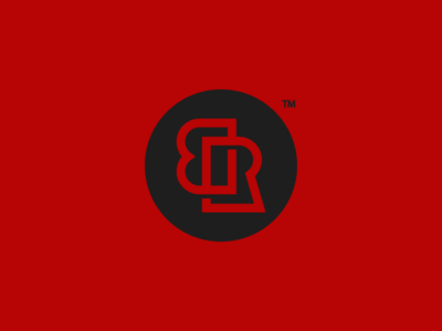 Redxblack V2 t-shirt store online black red letter r letter b letter logo monogram brand mark shirts