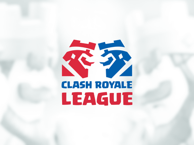 Clash Royale League Logo Proposal esports league clash supercell king play e games clash royale league calsh royale game esports logo