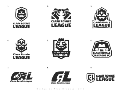 Clash Royale League Aproved Logo and Proposals