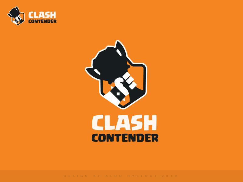 clash contender logo brand esports esportslogo barbarian barbar hand cup supercell community gamers game logo game gaming clash royale clash trophy league esports logo esport
