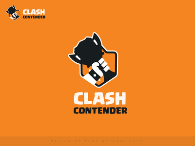 clash contender logo brand esports esportslogo barbarian barbar hand cup supercell community gamers game logo game gaming clash royale clash trophy league esports logo esport