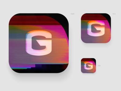 Daily UI: 005 Glitch App Icon