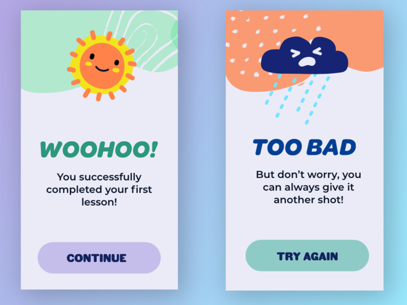 Daily UI Challenge 011 - Flash Messages
