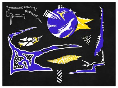 DAnZiG SHaH digital painting digital illustration digital art design illustration abstract art pop art