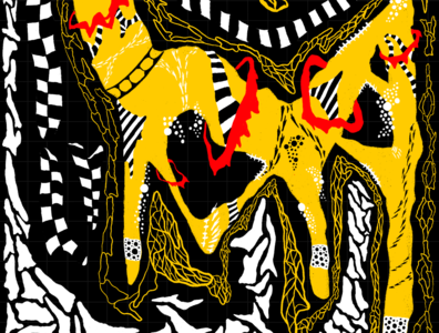 HiddEN 1019 illustrator pattern design drawing vector illustration procreate art procreate graphic design art