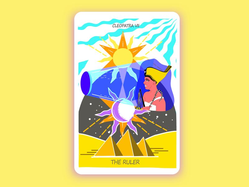 Cleopatra Tarot card