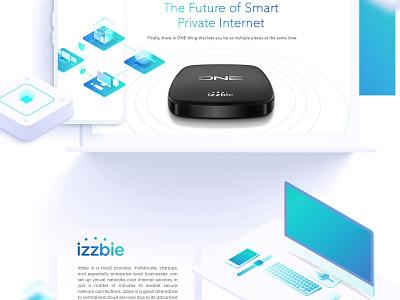 Private Internet Network Startup Website graphic design illustration visual design startup webapp website landing page ux ui