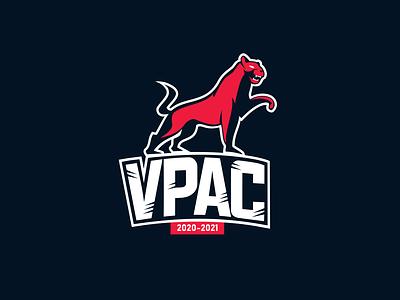 VPAC logo 2020 flat minimalistic branding logo vector design