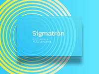 Sigmatron WIP