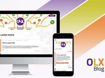 Concept Layout for OLX