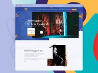 Jazz Festival Website