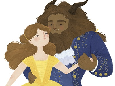 Tale as old as time digitalillustration beautyandthebeast disney