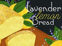 Lavender Lemon Bread