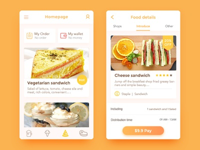 Healthy Takeaway APP sandwich orange takeaway healthy