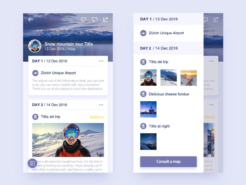 Travel Notes scenery snow app catalog notes travel