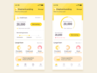 Credit Loans financial credit loans yellow