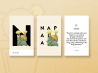 N is for Napala Triptych