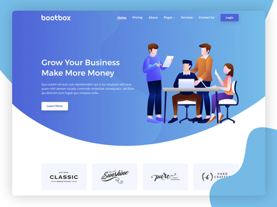 Bootbox - Agency and SAAS Theme