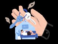 InsuredPal - Home web ui illustration