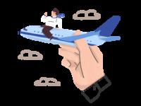 InsuredPal - Travel design web ui illustration