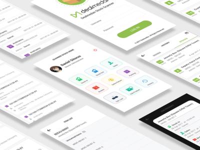 Stock App Design flat app android ux ui
