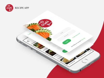 Oishi App ux ui