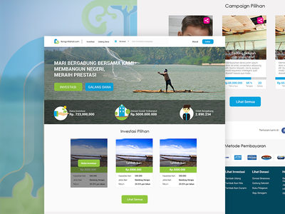 Bangun Bahari Web Design crowdsourching ux ui website